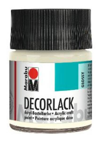 Decorlack Acryl, Farblos 100, 50 ml