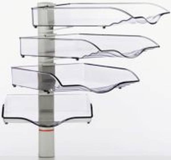Belegefach CopySwinger IV lichtgrau Schalenset, B4, 4 Stück, Kunststoff, M
