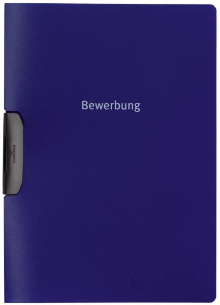 Bewerbungsmappe DURASWING JOB, Polypropylen, 30 Blatt, dunkelblau®