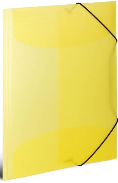 HERMA Gummizugmappe A3 PP transl. 19514 gelb