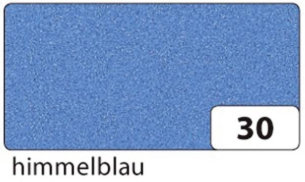 Moosgummi 20 x 29 cm, himmelblau