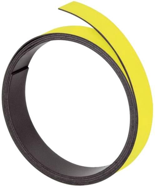 FRANKEN Magnetband 1m x 10mm gelb M802 04