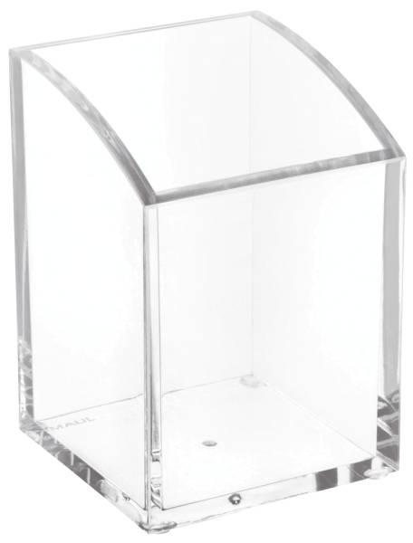 Acryl Stifteköcher, 1 Fach, 70 x 104 x 70 mm, glasklar