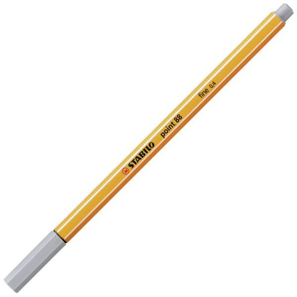 STABILO Feinliner point 88® EF 0,4mm mittelgrau 88/95