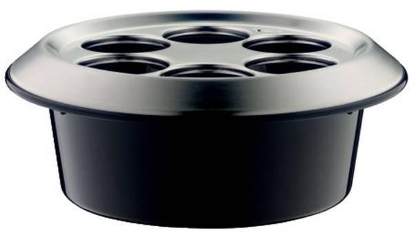 ALFI Konferenzkühler schwarz/silber 367205000 für 6FL
