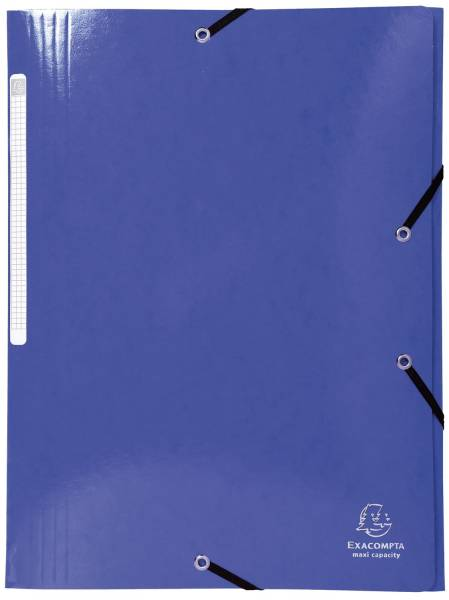 Gummizugmappe A4 blau