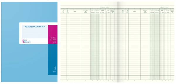 KÖNIG & EBHARDT Wareneingangsbuch A4 40Bl 8610641