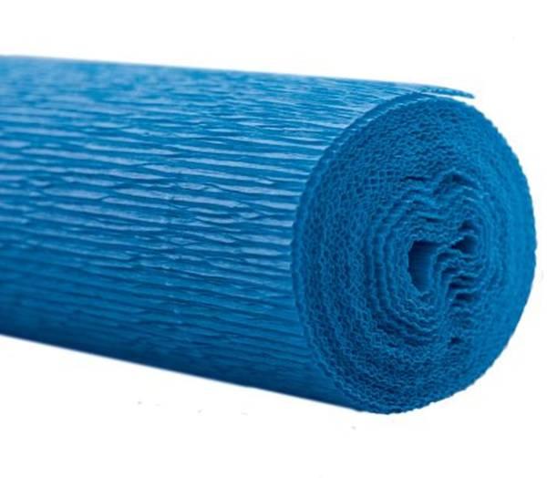 WEROLA Gärtner Krepp 50x250cm blau 794048024 50x250cm