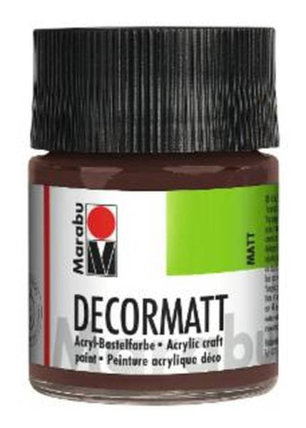 MARABU Decormatt Acryl mittelbraun 1401 05 040 50 ml