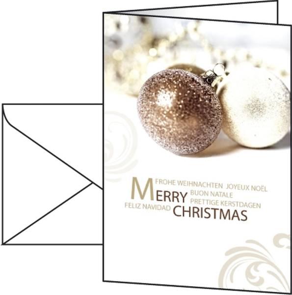 """Weihnachts Karten """"Moments"""" A6 (A5), 10 Karten®"""