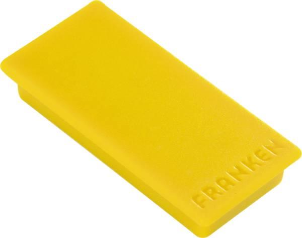 Magnet, 23 x 50 mm, 1000 g, gelb