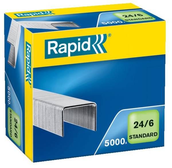 RAPID Heftklammer 24/6 Standard verzinkt 24859800 5000St