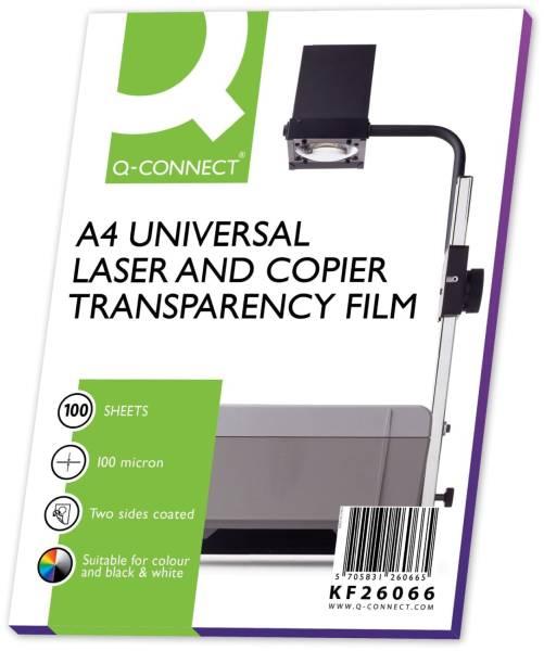 Q-CONNECT OHP Folie A4 Kopierfolie KF26066