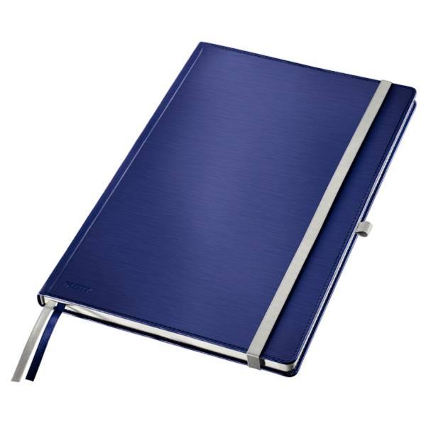 Notizbuch Style A4 lin HC titan blau
