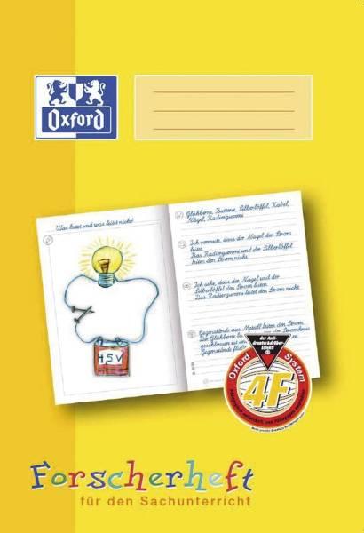 Schreiblernheft LIN 4F A4, 16 Blatt, 90g qm, Forscherheft