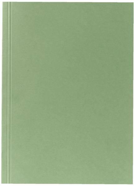 Aktendeckel A4 grün, Manilakarton 250 g qm