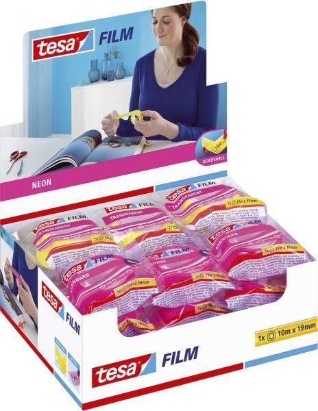 TESA Klebefilm NEON pink/gelb 53930-00000-00 19mmx10m