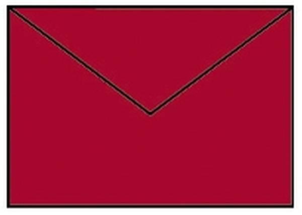 Coloretti Briefumschläge C6, 5 Stück, mohn
