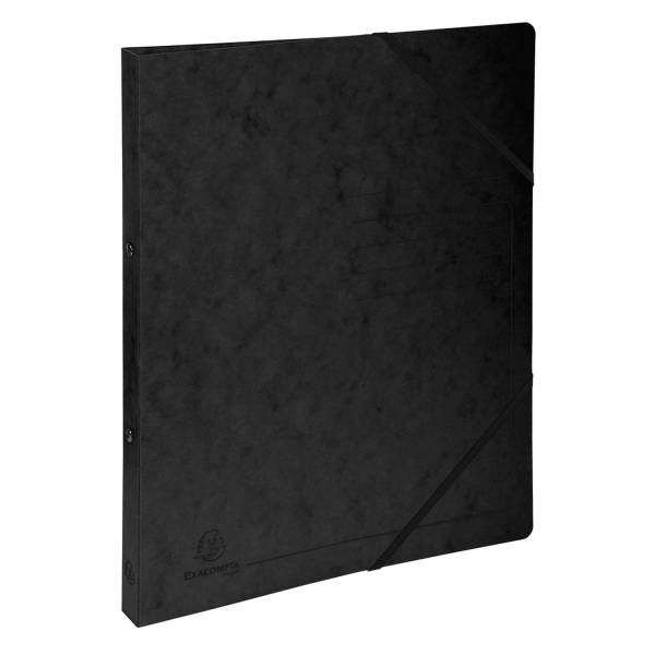 EXACOMPTA Ringmappe A4/2R/15mm schwarz 542551E Colorspan