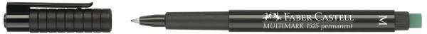 FABER CASTELL Overheadstift OHP-PLUS schwarz 152599 M MULTIMA
