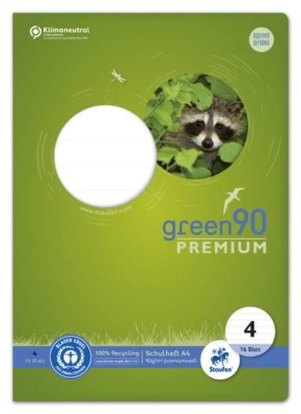 Heft LIN4, A4, 16 Blatt, 90 g qm, 10 mm liniert