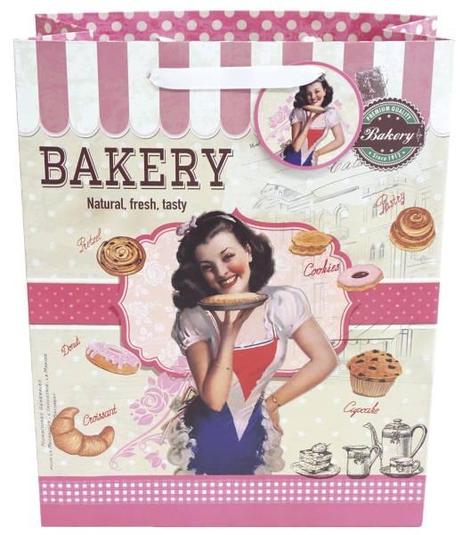 Geschenktragetasche Baking Lady 010-AT15052 33x26x11cm