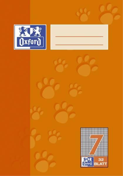 Heft A5 32 Blatt Lineatur 7
