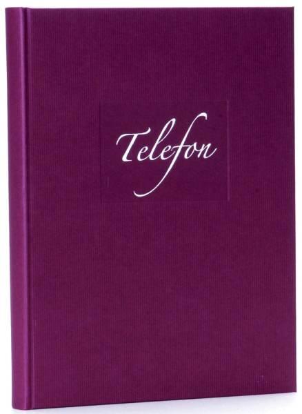 GOLDBUCH Telefonspiralbuch Seda brombee 62048 17x23cm