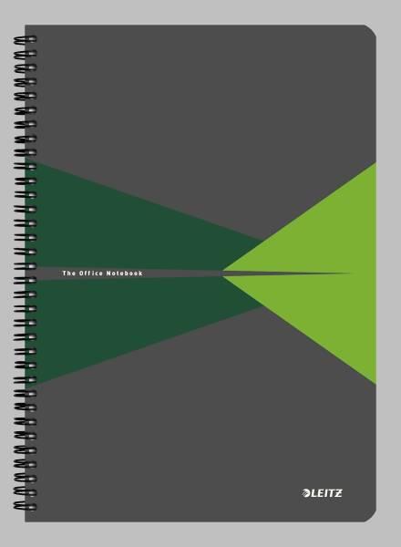 Collegeblock Office PP A4 liniert grün