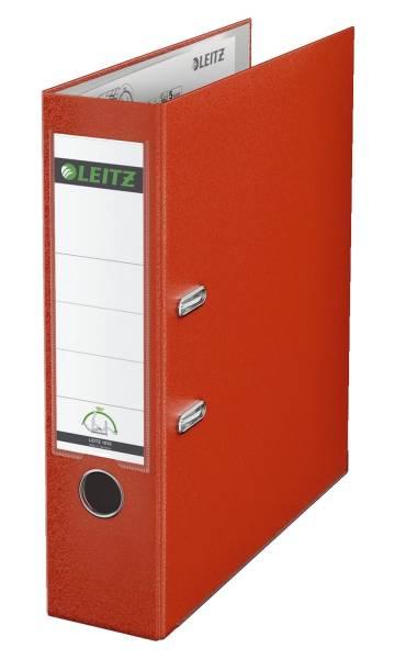 LEITZ Ordner Plastik A4 8cm hellrot 1010-50-20 180° Mechanik