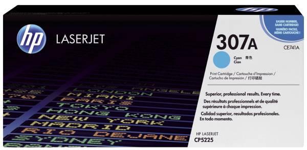 HP Lasertoner Nr. 307A cyan CE741A