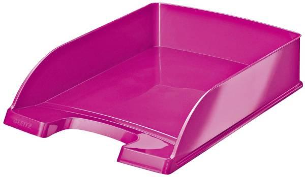 5226 Briefkorb Plus WOW A4, Polystyrol, pink metallic