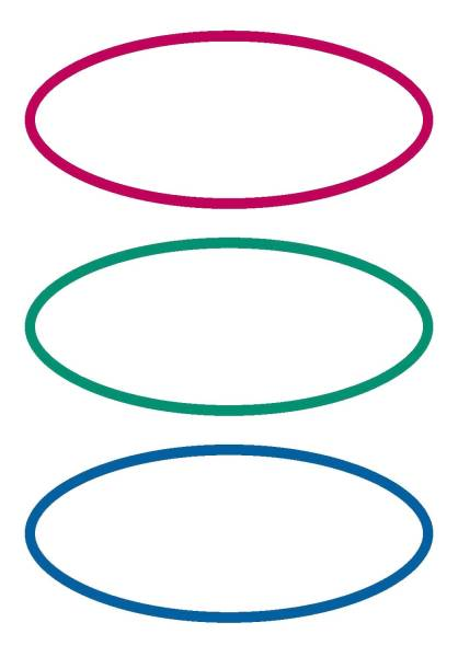 5782 Schuletiketten dreifarbig