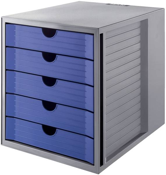 HAN Schubladenbox Karma grau/blau 14508-16 Karma