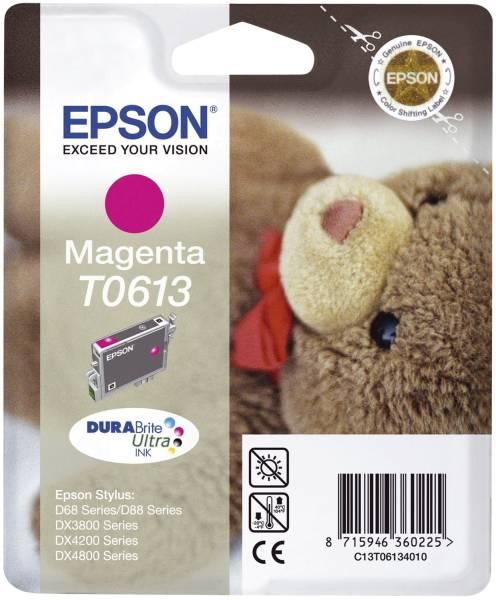 EPSON Inkjetpatrone T0613 magenta C13T06134010