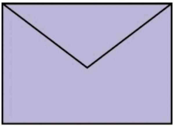 RÖSSLER Briefhülle B6 5ST lavendel 220720538