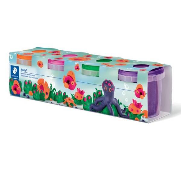 Spielknete Noris Club 4 farbig sortiert, Sonderfarben