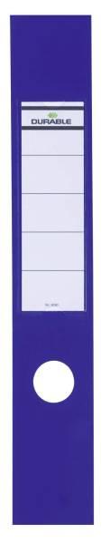 Rückenschild 60mm blau