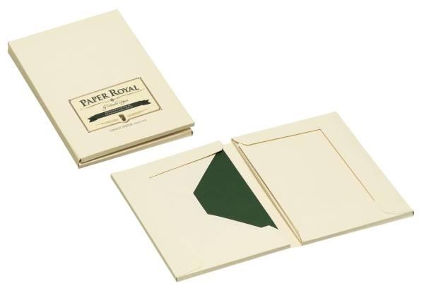 RÖSSLER Kartenkassette A6/C6 chamois 2234831008