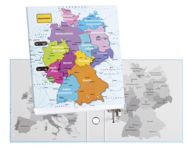 Motivordner Deutschland A4, 75 mm