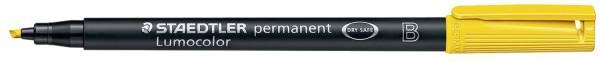 Feinschreiber Universalstift Lumocolor permanent, B, gelb®