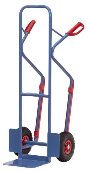 Stahlrohrkarre blau B1330L