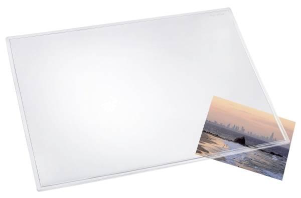 Schreibunterlage DURELLA 70 x 50 cm, transparent glasklar