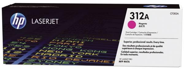 HP Lasertoner magenta Nr. 312A CF383A