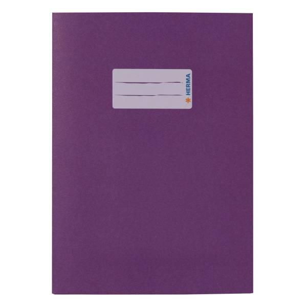 Heftschoner A5 UWF violett