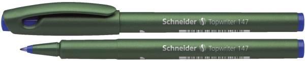 Faserschreiber TOPWRITER 147, 0,6 mm, blau