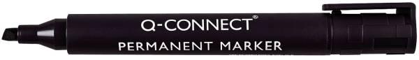 Q-CONNECT Permanentmarker M schwarz KF26042 Keilspitze