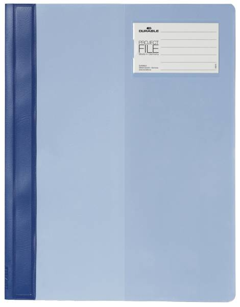 DURABLE Schnellhefter blau 274506 PROJECT FILE