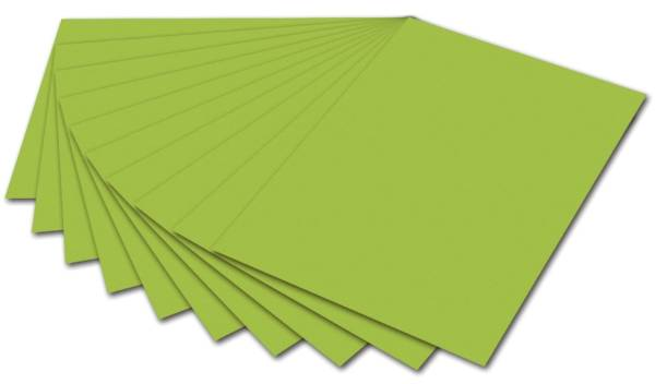 Tonpapier A4, maigrün