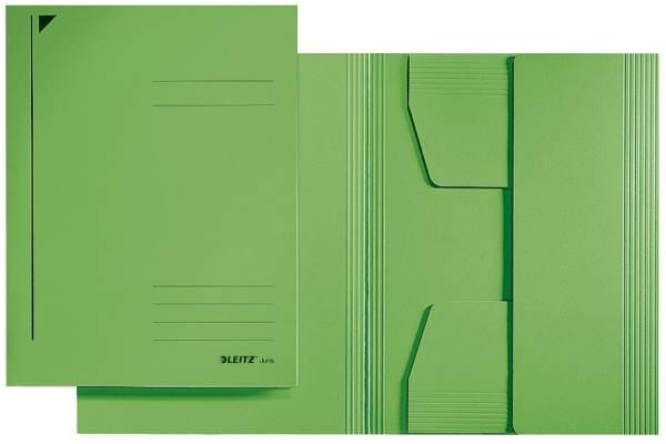 3922 Jurismappe, Folio, Colorspankarton 300g, grün